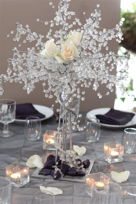 table centerpieces using photos a sparkling wedding table centerpiece i would use less