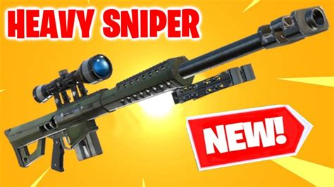 *new* Heavy Sniper Gameplay In Fortnite Battle Royale Live