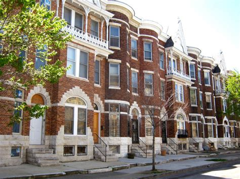 The History Of Baltimore Rowhouses Wanderwisdom