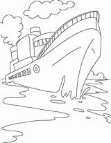 Coloring Ship Cruise Pages Boat Drawing Printable Speed Ships Disney Cargo Titanic Container Sheets Bestcoloringpages Preschool Shipwreck Books Craft Worksheets sketch template