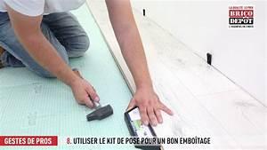 Poser Un Parquet Flottant : comment poser un parquet flottant youtube ~ Farleysfitness.com Idées de Décoration