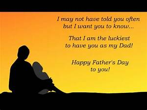 Happy Father's Day 2016- Video Greetings for Dad - YouTube