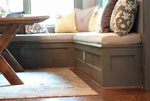 Breakfast Nook Bench With Storage Bee Home Plan Home