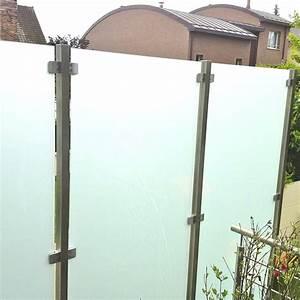 Brise Vue Opaque : brise vue en verre pour terrasse 4 avec pare opaque ~ Premium-room.com Idées de Décoration