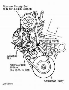 1991 Honda Prelude Serpentine Belt Routing And Timing Belt