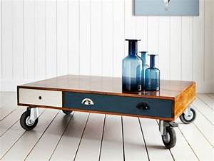 coffee table with drawers design images photos pictures With small coffee table on casters