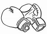 Coloring Boxing Gloves Glove Strong Bokshandschoen Drawing Bokshandschoenen Surprise Sinterklaas Template Cliparts Boksen Maken Blogo Hobby Designlooter Als Sketch Drawings sketch template