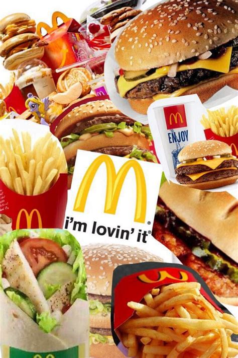 mcdonalds collage food pinterest collage and mcdonald s