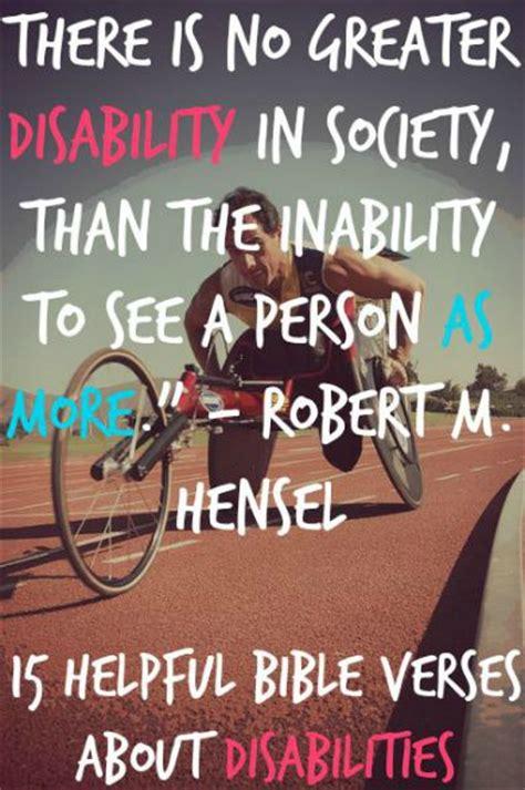 helpful bible verses  disabilities