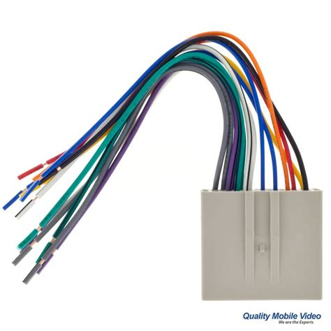 Metra Turbowires Wiring Harness Ford