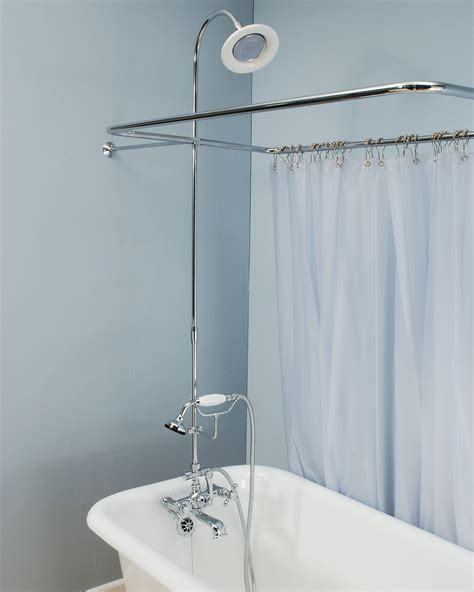 Oil Rubbed Bronze Faucets Canada by Extra Large Claw Tub Shower Enclosure The Loo Store