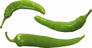 Green pepper PNG image