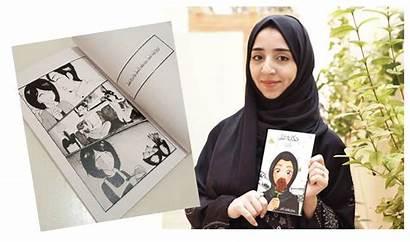 Saudi Samah Kamel Arab Pertama Mangaka Budaya