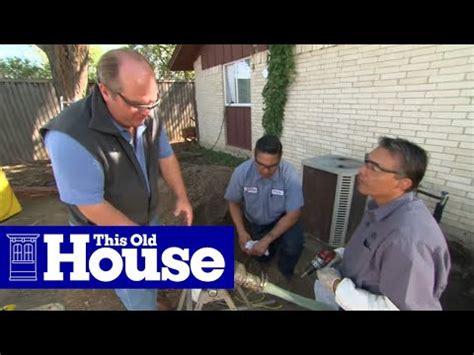 repair  sewer pipe   concrete slab