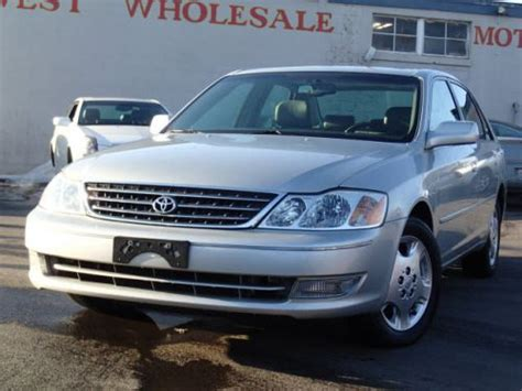 2004 Toyota Avalon Xls by Sell Used 2004 Toyota Avalon Xls In 535 N 6th St Wood