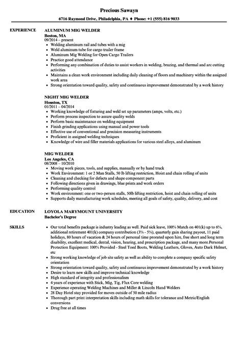 Welding Resume Template | louiesportsmouth.com