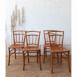 Chaise Bistrot Vintage : chaise bistrot vintage luterma atelier du petit parc ~ Teatrodelosmanantiales.com Idées de Décoration