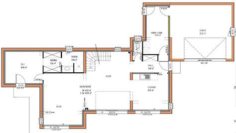 plan de maison 5 chambres projets immobiliers loire atlantique 44