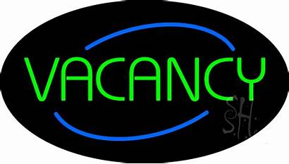 Vacancy Sign Neon Oval Everythingneon Animated Signs