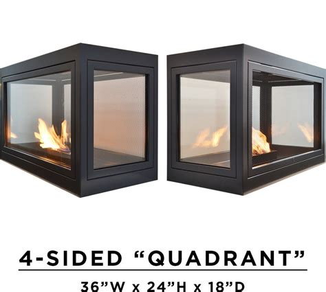modern ventless fireplaces modern freestanding