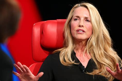 laurene powell jobs young laurene powell jobs is using ronald reagan in political