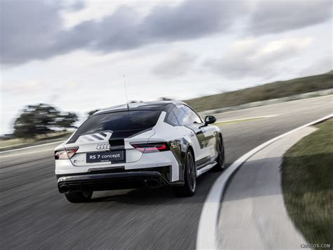 2018 Audi Rs7 Piloted Driving Concept Rear Hd