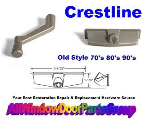 crestline casement window operator cover  handle biltbest window parts