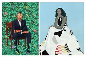 The Obamas' Official Portraits Unveiled at National ...