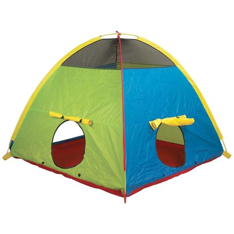 playroom tent pacific play tents super duper 4 kid play tent 116286 toys at sportsman s guide