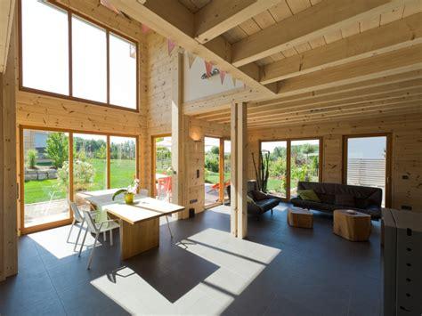 blockhaus haselhof modernes holzhaus im schnoerkelfreien