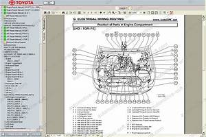Toyota Land Cruiser Prado 120 Workshop Service Manual  Maintenance  Electrical Wiring Diagram