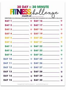 30 Day Fitness Challenge Pictures Photos And Images For