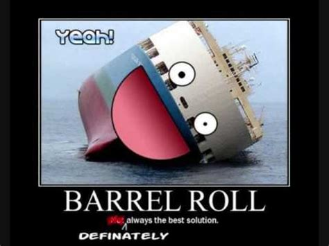 Do A Barrel Roll Meme - do a barrel roll youtube