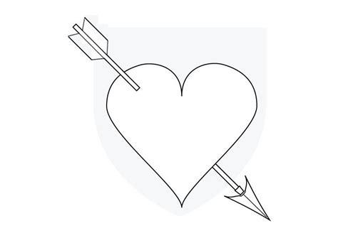 disegno da colorare cuore  cupido cat  images