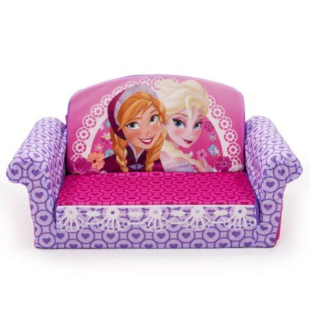 marshmallow furniture    flip open sofa disney frozen