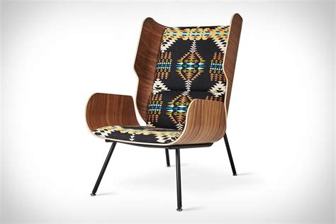 gus modern x pendleton lounge chairs uncrate