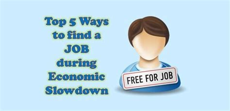 5 Ways To Find A Job During Recessions Career