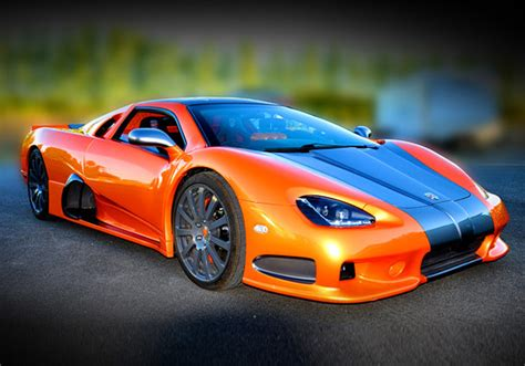 10 Of The Fastest Super Cars In The World