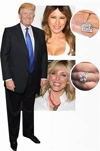 who got the better ring celebrity engagement rings With donald trump wedding ring