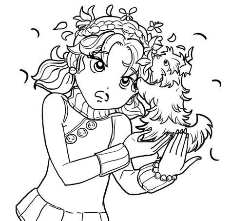 Kleurplaat Mackenzie by Image And A Puppy Jpg Dork Diaries Wiki Fandom