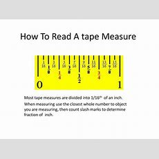 Ppt  How To Read A Tape Measure Powerpoint Presentation Id5335055