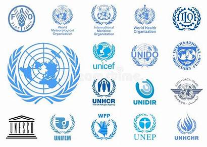 Agencies Nations United Logos Important Onu Agenzie