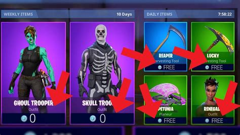 comment avoir les items fortnite gratuitement glitch