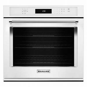 Kitchenaid 27 In  Single Electric Wall Oven Self