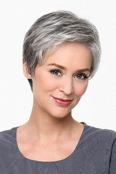 pixie haircuts for gray hair 21 impressive gray hairstyles for grey hair 3810