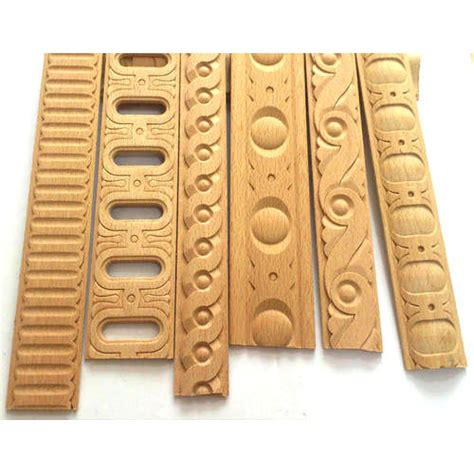 brown decorative carved wooden wall molding rs