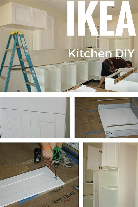 kitchen cabinets put together yourself ikea kitchen cabinet update how we feel about our ikea