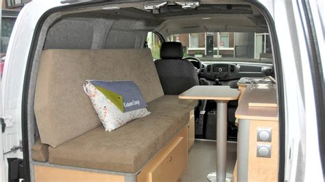 nissan nv camper youtube