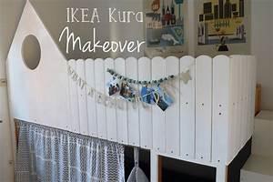 Ikea Kura Bett Umgestalten : kleines freudenhaus kinderzimmer makeover mit ikea kura hack ~ Watch28wear.com Haus und Dekorationen