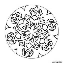 Coloriage Mandala Boule Denoel Sapin Dessin